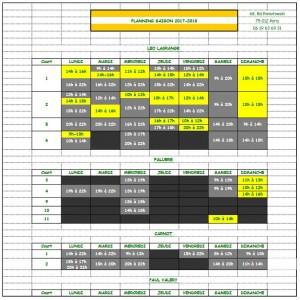 Planning 17 18