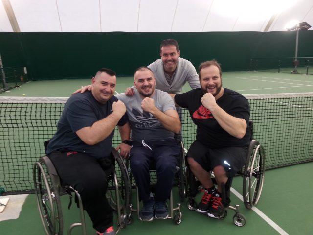 nos champions en tennis fauteuil aux interclubs